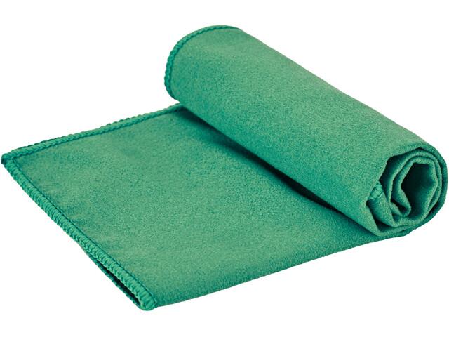CAMPZ Toalla Microfibra 35x25cm, green
